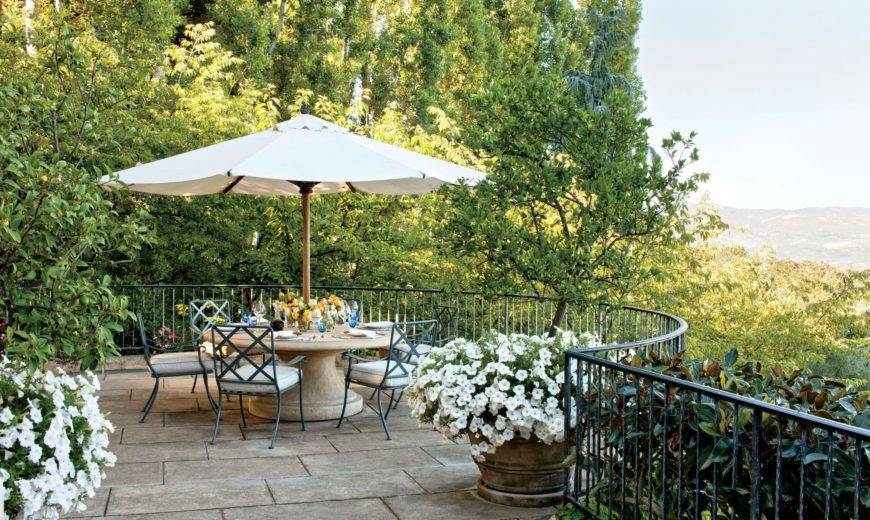 Patio Design Ideas for When You're Working With a Small Space