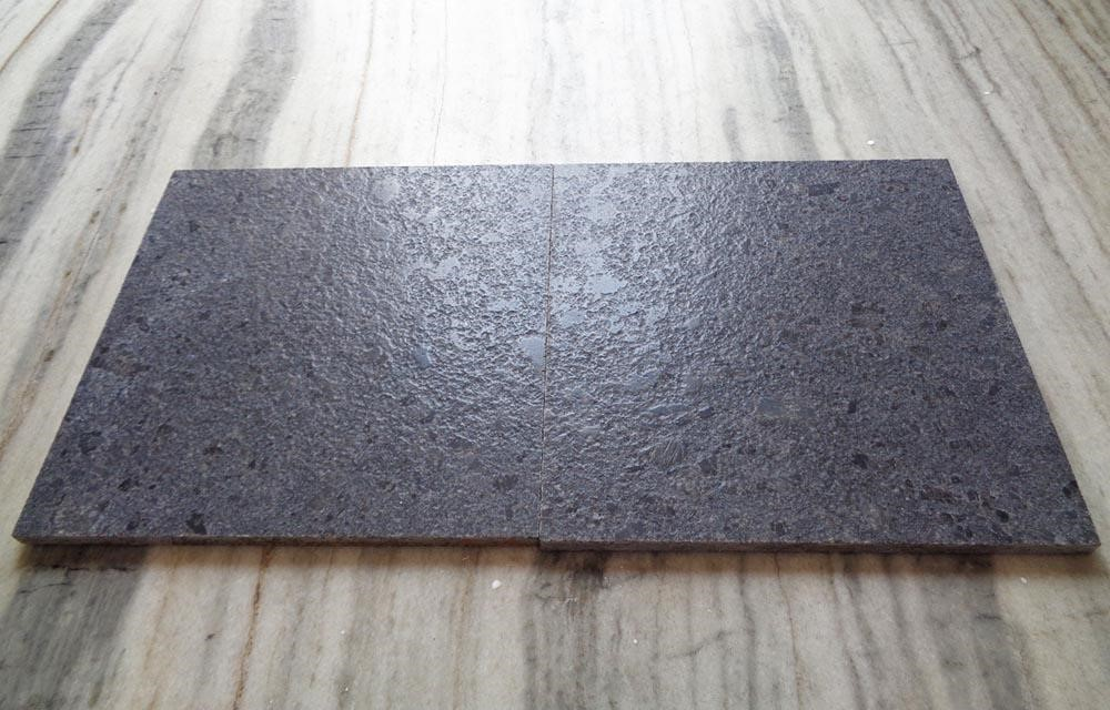 Leathered granite from India