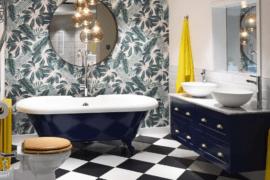 Underfoot: Unique Bathroom Flooring Ideas