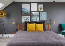 Accent-pillows-and-wall-art-add-color-to-this-cool-bachelor-bedroom-in-trendy-gray-73362-217x155