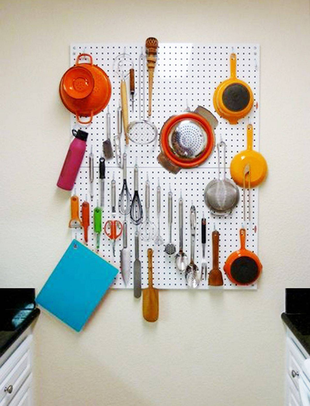 Aluminum-Pegboard-Kitchen-Organization-unit-offers-the-perfect-space-savvy-solution-in-the-tiny-kitchen-55842