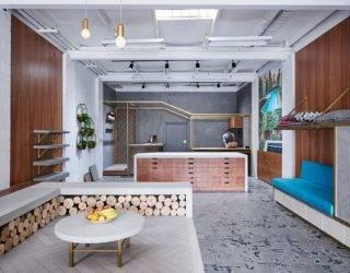 Anston Architectural: Bespoke Concrete Decor Showcased in an Interactive Setting