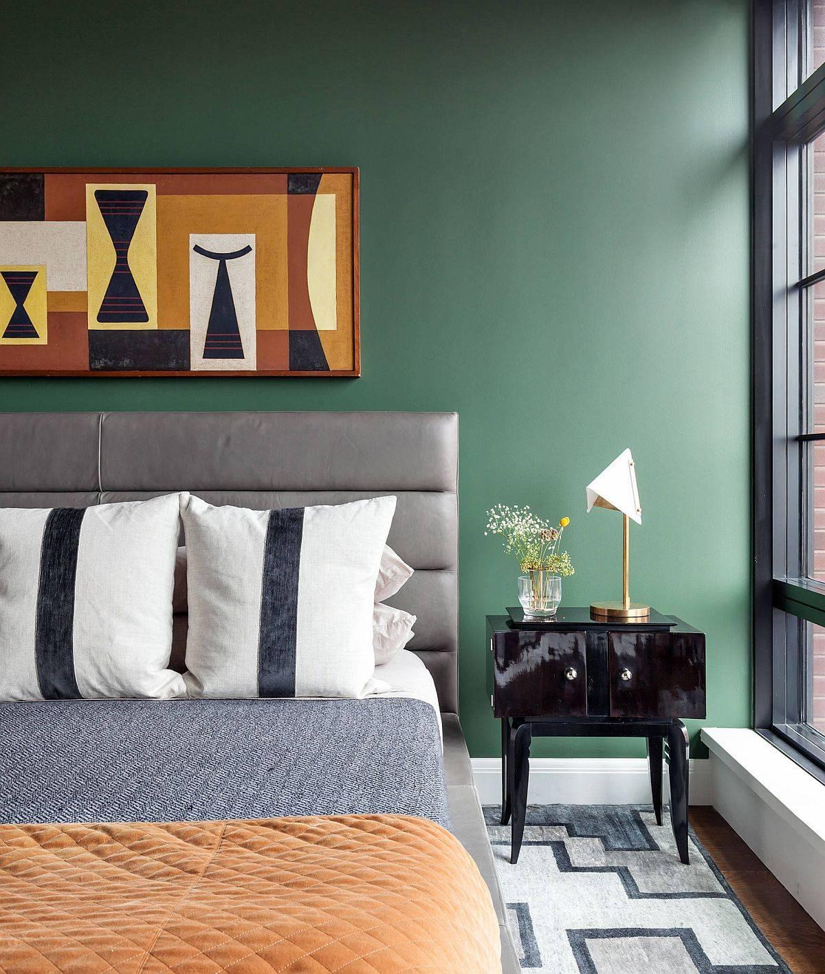 Dark-gray-walls-in-the-contemporary-bedroom-meet-gray-panache-56510