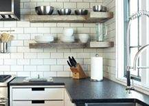 Floating-shelves-in-wood-along-with-cabinets-below-maximize-the-corner-in-this-kitchen-94596-217x155
