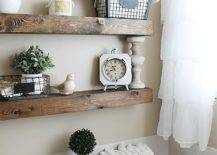 Floating-wooden-shelves-are-just-apt-in-the-small-farmhouse-bathroom-47930-217x155
