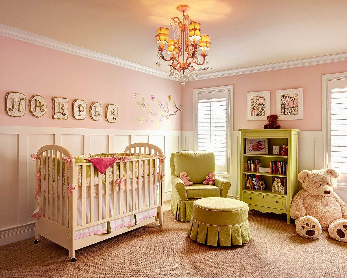 Green-and-pink-is-a-fabulous-combination-for-the-kids-room-and-nursery-97318