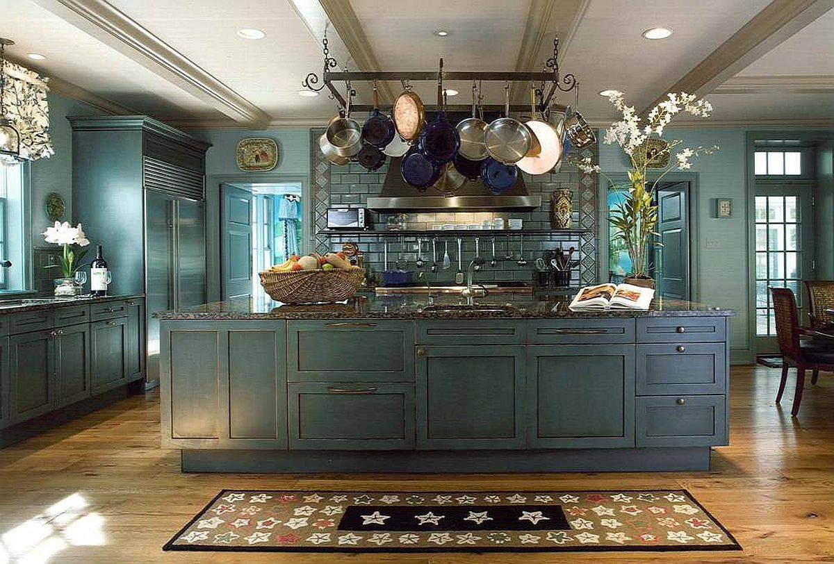 Hanging-the-pot-rack-above-the-island-is-a-popular-option-in-the-modern-kitchen-59288