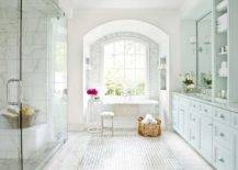 Lovely-little-arched-aclove-for-the-modern-traditional-bathroom-in-white-that-holds-the-bathtub-62834-217x155