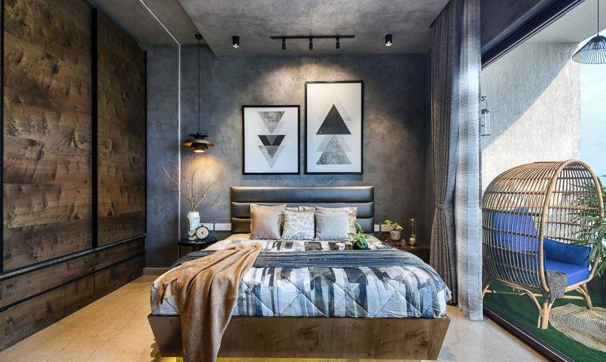 Styles that are Perfect for the Bachelor Bedroom: Polished Luxury!