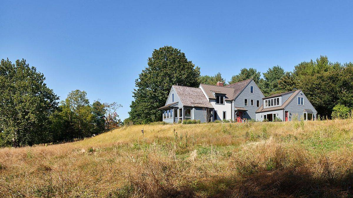 Renovated and revamped Meadows House in Gwynedd Valley combined modernity with old world charm