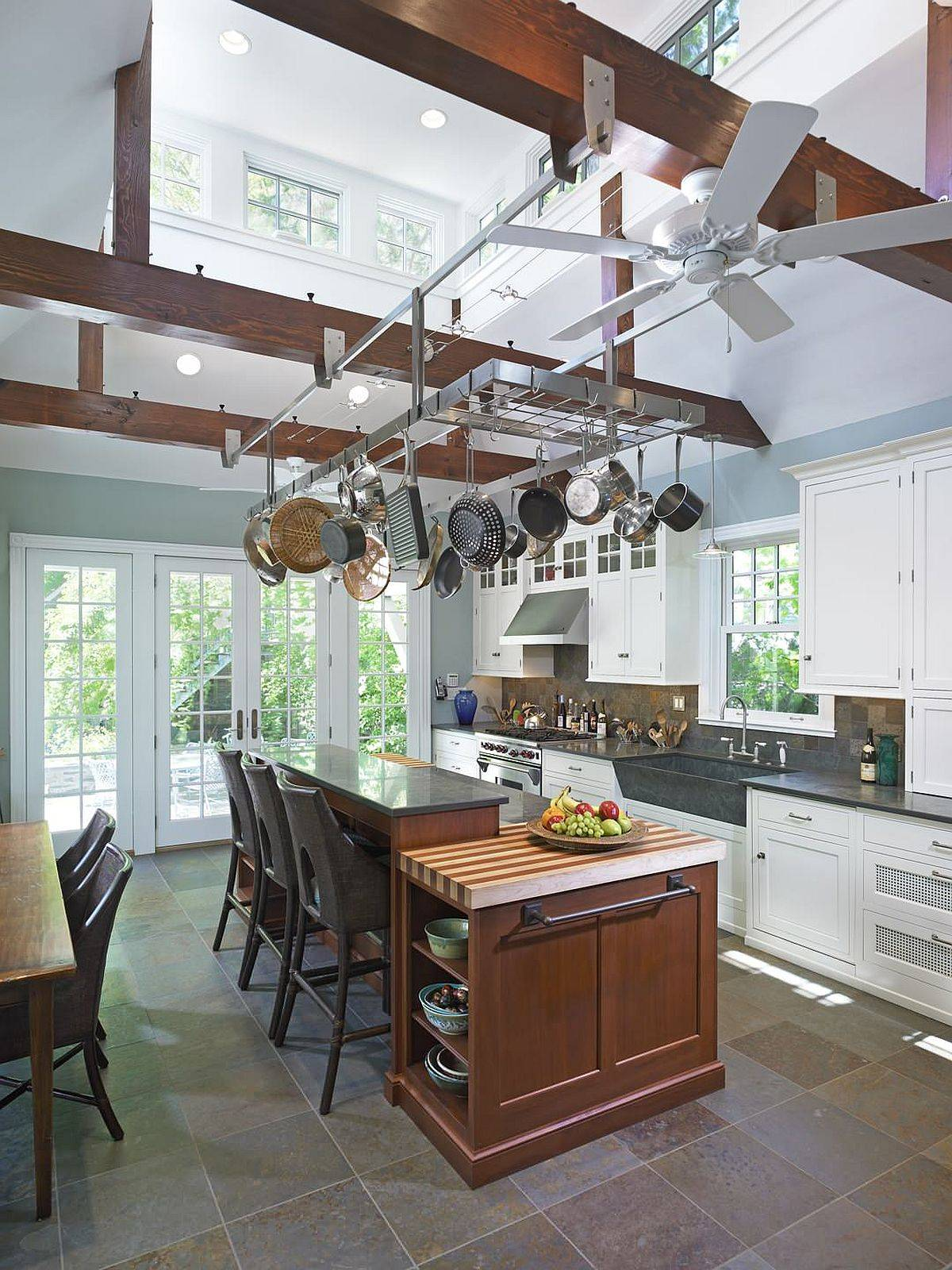 Suspended-pot-rack-saves-space-in-the-kitchen-in-more-ways-than-one-32936