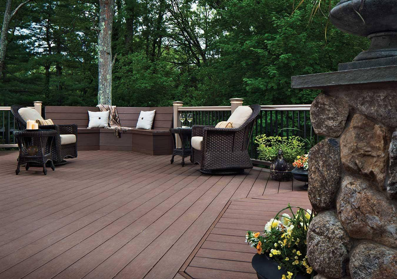 Pictures of beautiful backyard decks and patio