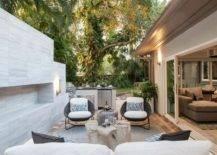 a stylish backyard patio dea