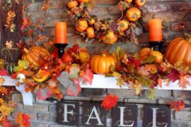 Gorgeous Fall Mantel Decor Display Ideas