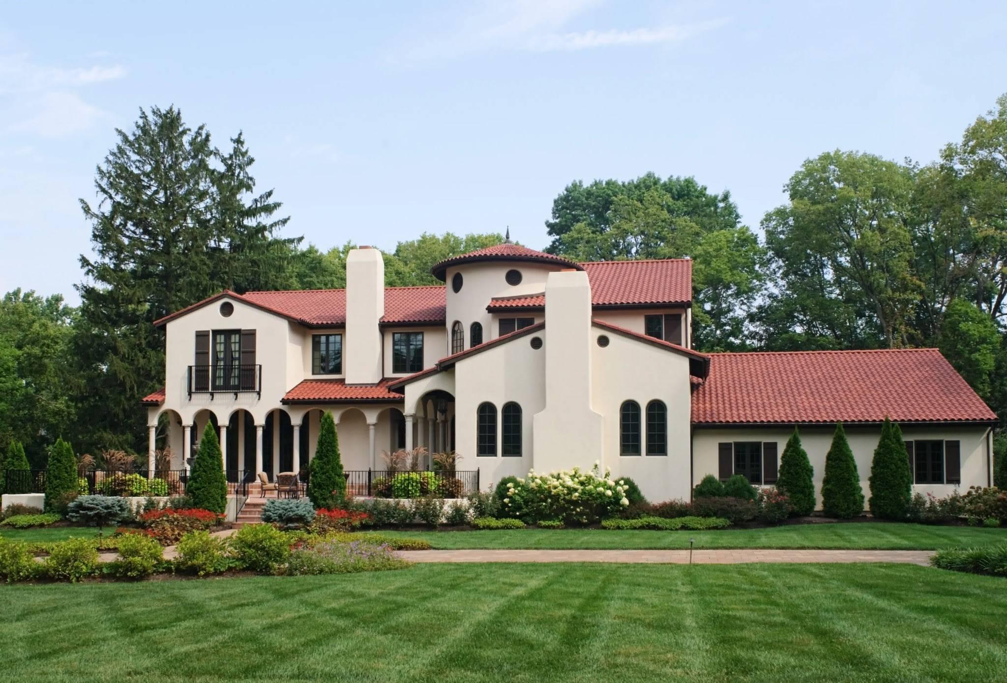 Modern Hacienda Home Design
