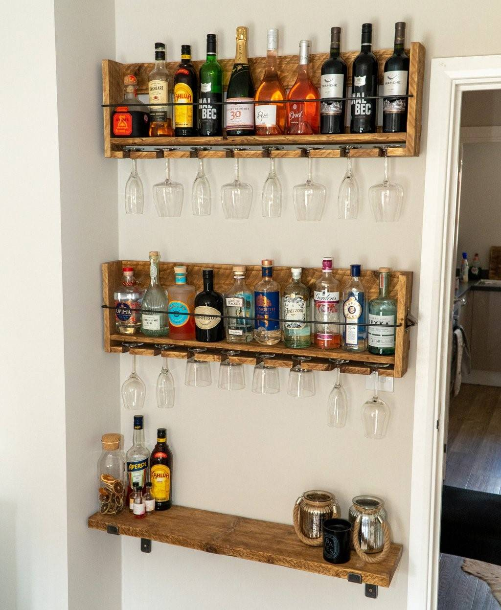 Photos To Inspire You To Convert That Small Space Into A Bar
