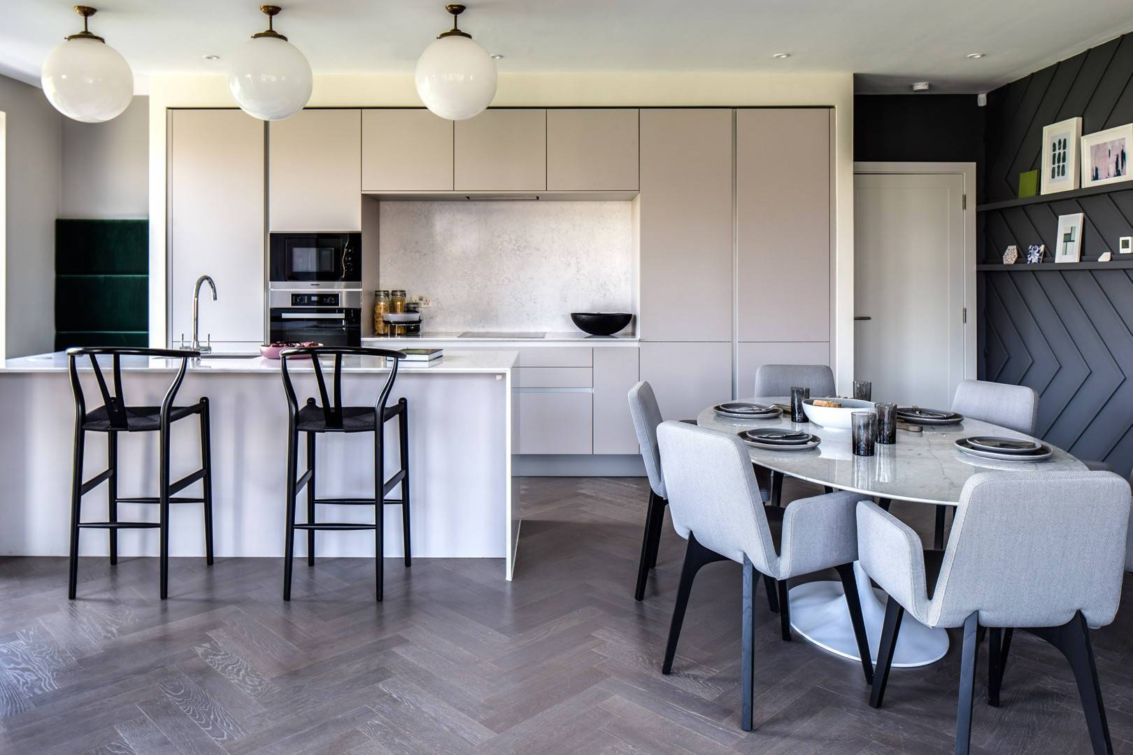 How to Bring Herringbone into the Home
