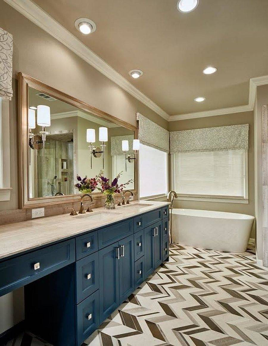 Beautiful-floor-tiles-bring-pattern-to-this-posh-contemporary-bathroom-76544