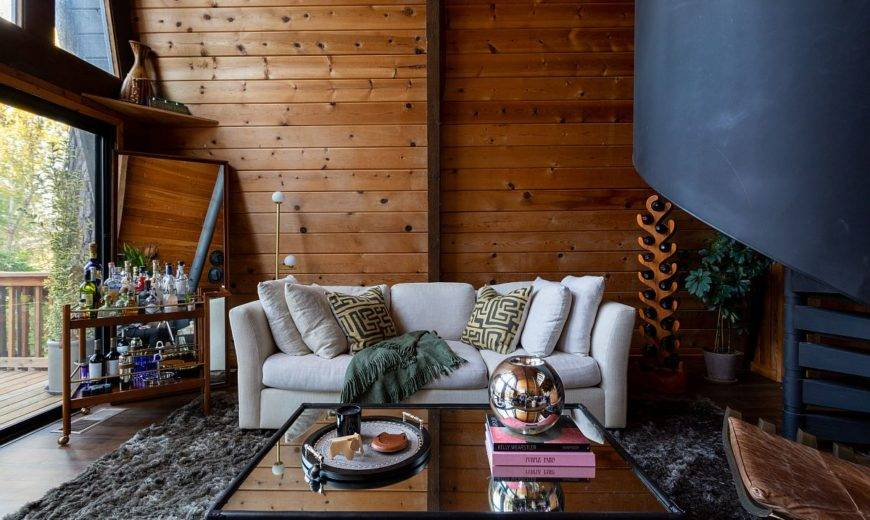 How to Add Rustic Touches to Your Living Room: Fall / Winter Design Guide
