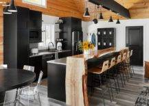 Breakfast-bar-in-live-edge-wood-adds-textural-contrast-to-this-wonderful-modern-kitchen-70668-217x155