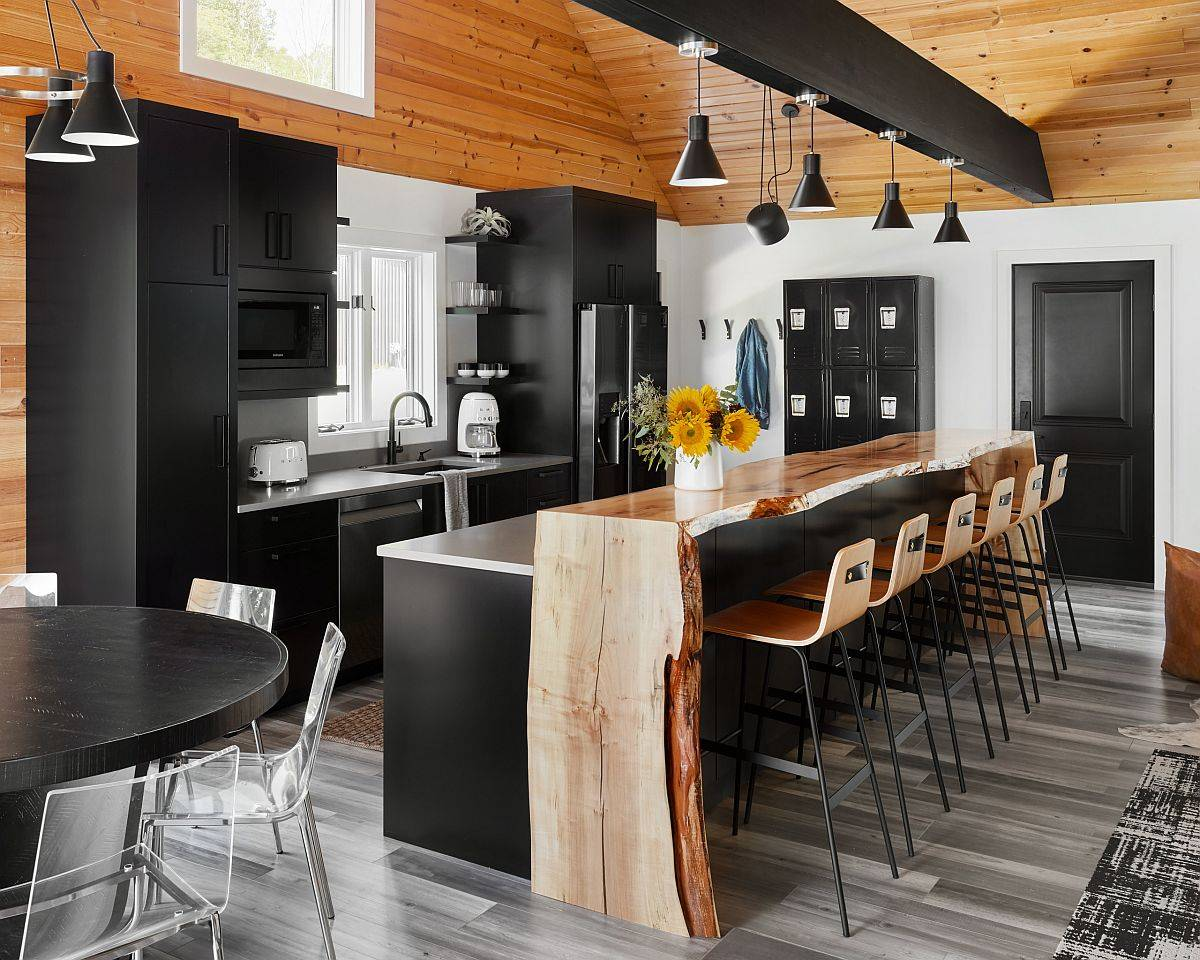 Breakfast-bar-in-live-edge-wood-adds-textural-contrast-to-this-wonderful-modern-kitchen-70668