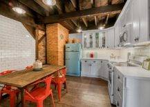 Bright-red-chairs-and-vintage-refrigerator-add-color-to-this-small-modern-farmhouse-kitchen-32360-217x155