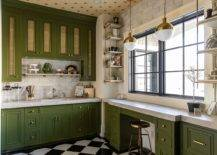 Classic-white-and-green-kitchen-with-warm-yellow-ceiling-is-perfect-for-fall-the-holidays-and-beyond-96266-217x155