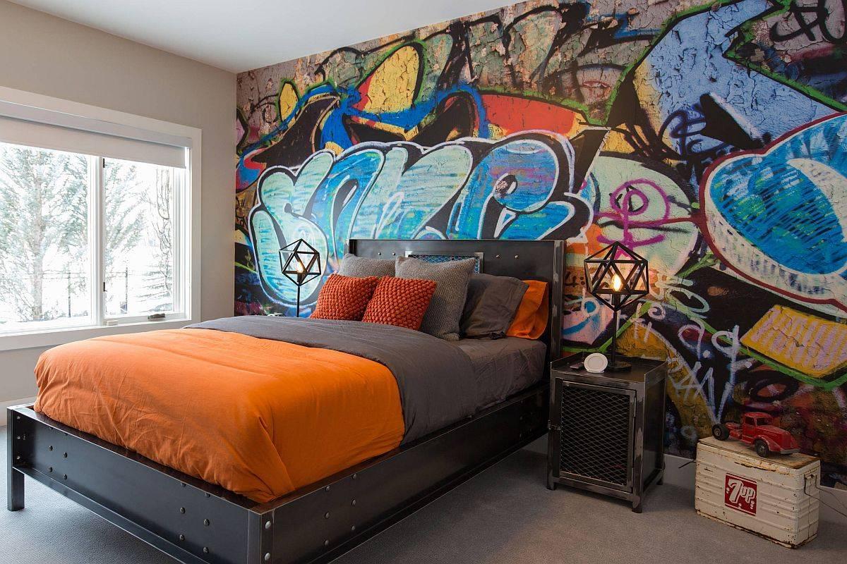Bunte-grafitti-tongkat-membuat-efek-terbesar-di-kamar tidur remaja sudut-ini-94125