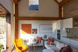 Green Living: Sustainable Secondary Home with Green Roof and Great Insulation