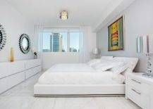 Contemporary-Miami-bedroom-wth-polished-marble-floor-and-white-walls-22694-217x155
