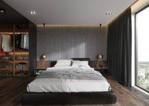 Custom-headboard-tufted-wall-copper-bedside-pendants-and-a-wonderful-wardrobe-for-the-bachelor-bedroom-61739-217x155