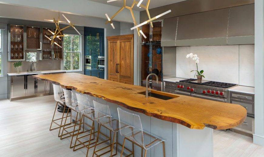 Live-Edge Kitchen Counters: Give Your Kitchen a Unique Makeover!