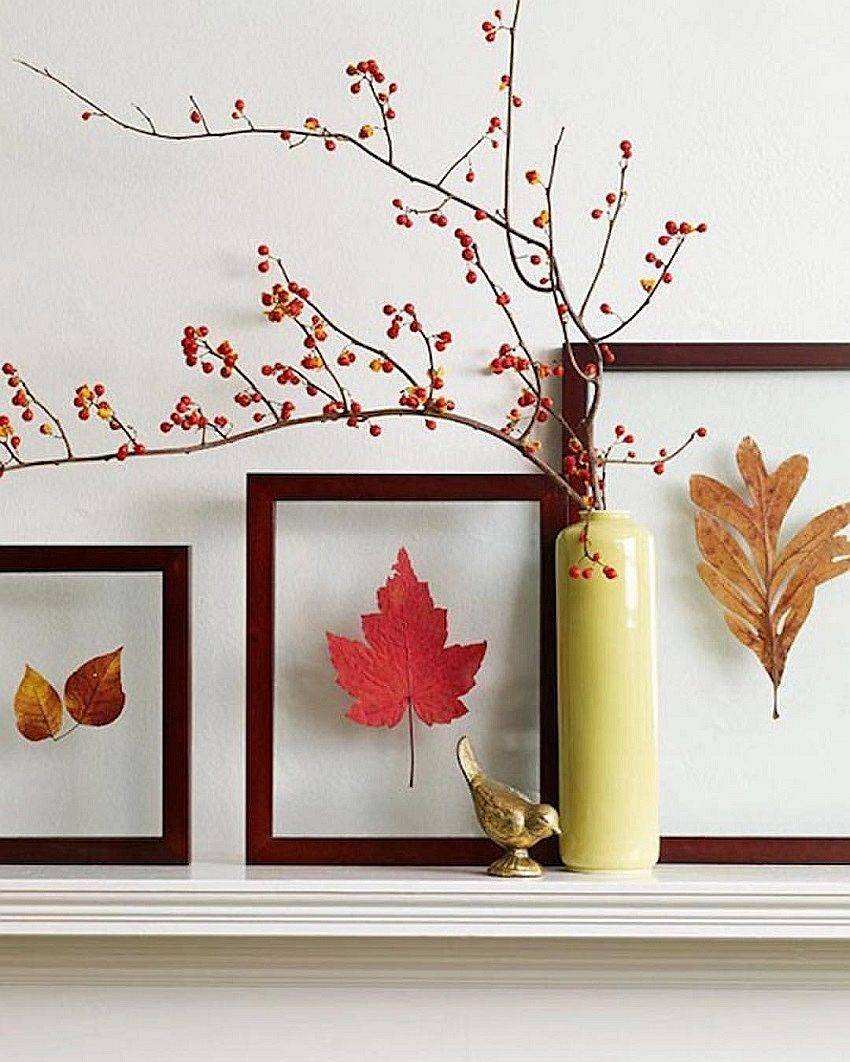 Easy DIY way to decorate your bedside table this fall!