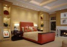 Fireplace-brings-a-hint-of-marble-charm-to-this-warm-and-dashing-modern-bedroom-with-fall-colors-59899-217x155