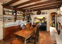 Heavy-wooden-table-at-the-heart-of-this-farmhoue-kitchen-can-easily-host-dinner-partis-across-the-Holidays-96533-217x155