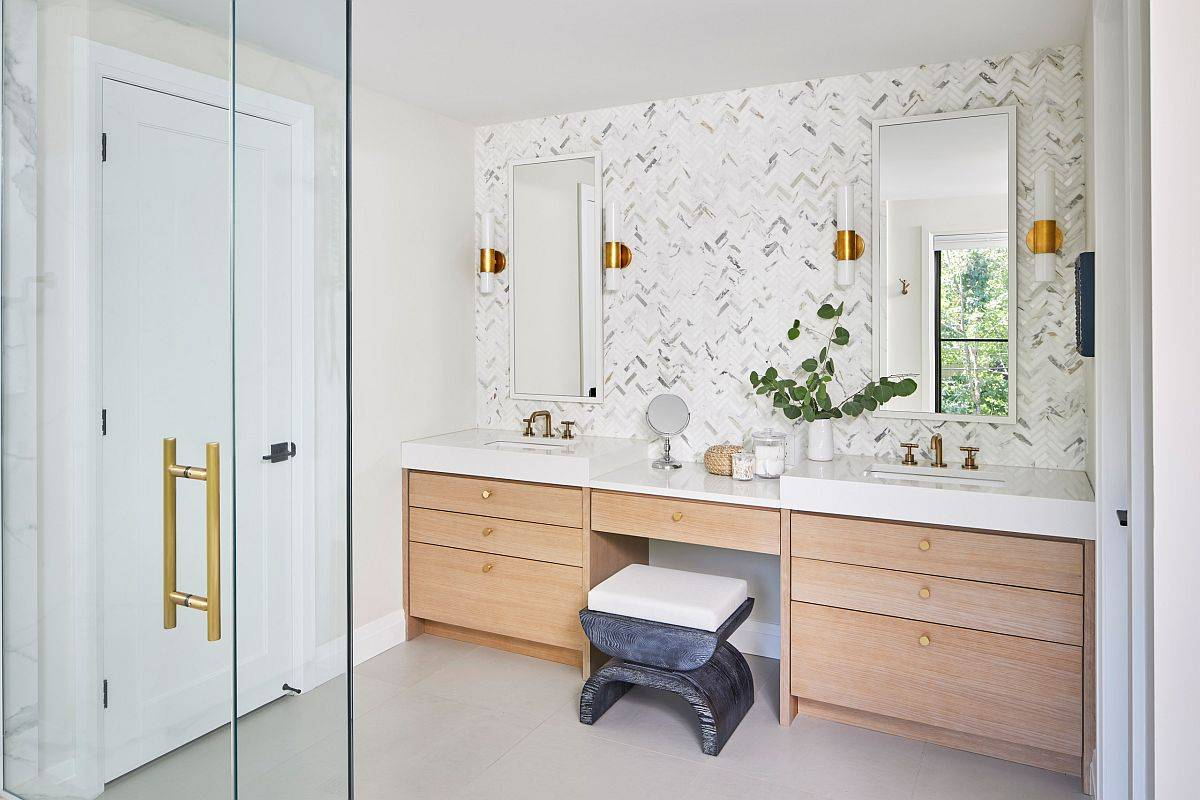 Just-a-hint-of-marble-can-make-big-difference-in-the-modern-bathroom-57540
