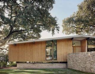 Beautiful 1950's Austin Home Gets a Modern, Spacious Interior and Backyard