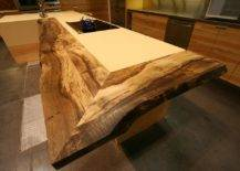 Live-edge-reclaimed-wood-counter-added-to-the-traditional-kitchen-island-in-an-eye-catching-manner-64758-217x155