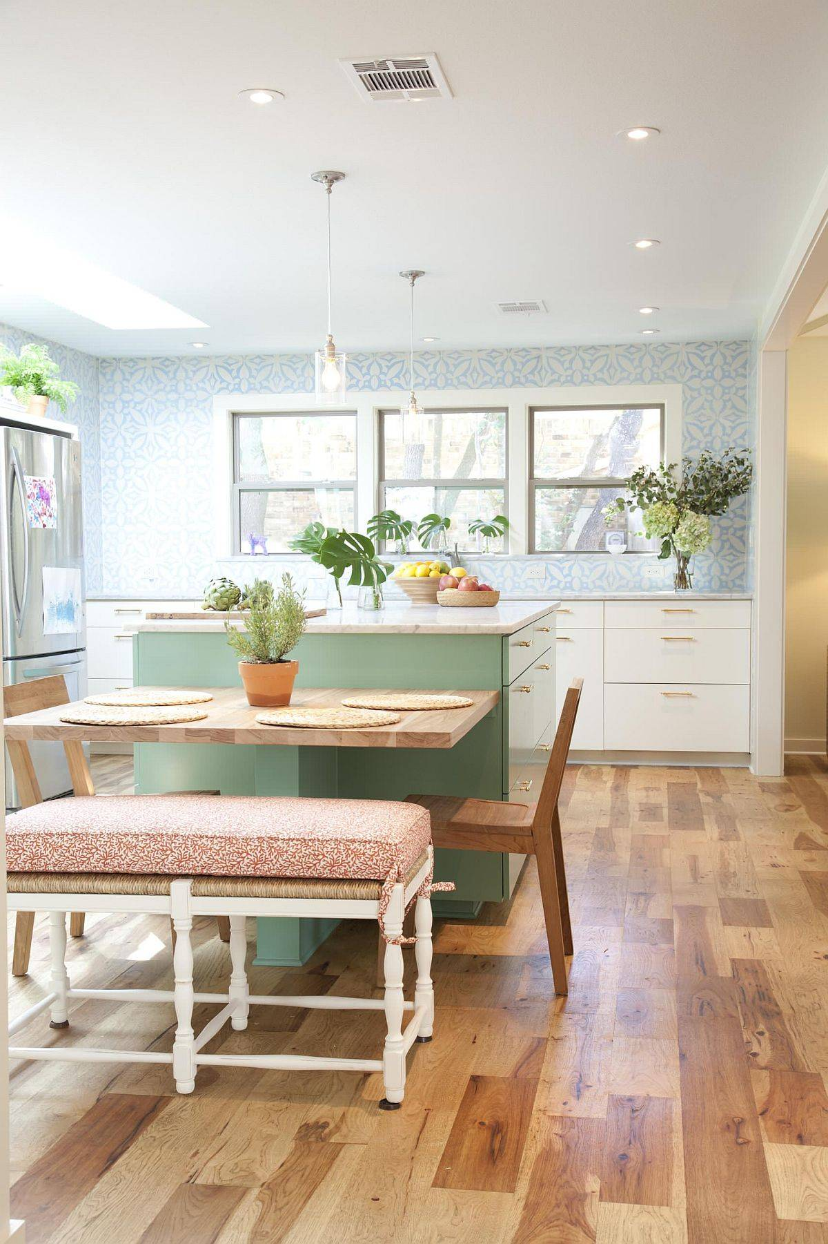Lovely-pastel-green-adds-vibrant-charm-to-this-delightful-eat-in-kitchen-with-Mediterranean-touches-75369