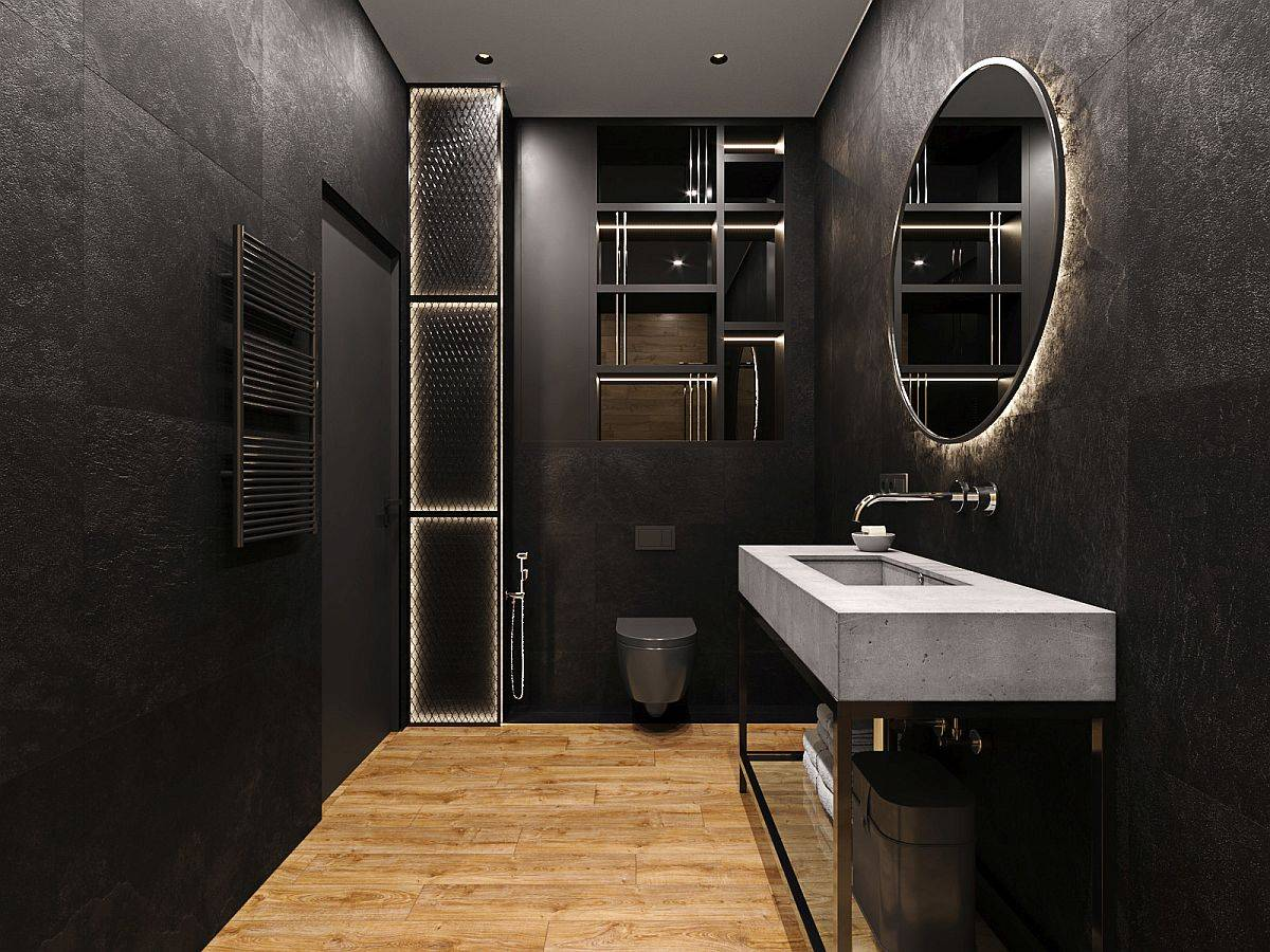 Modern-bathroom-in-black-with-gorgeous-LED-lighting-and-fabulous-mirrors-95248