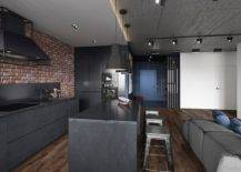 Modern-industrial-kitchen-of-the-Kiev-apartment-with-dark-finishes-and-lovly-pendnats-above-the-island-32453-217x155