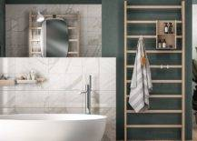 Polished-marble-finishes-white-bathtub-and-a-serene-teal-backdrop-for-the-elegant-contemporary-bathroom-27671-217x155