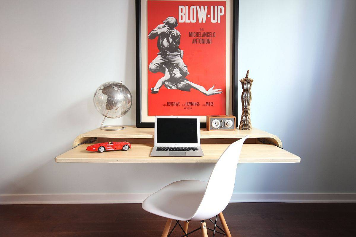 Minimal Floating Desks Perfect for the Small Modern Home Office