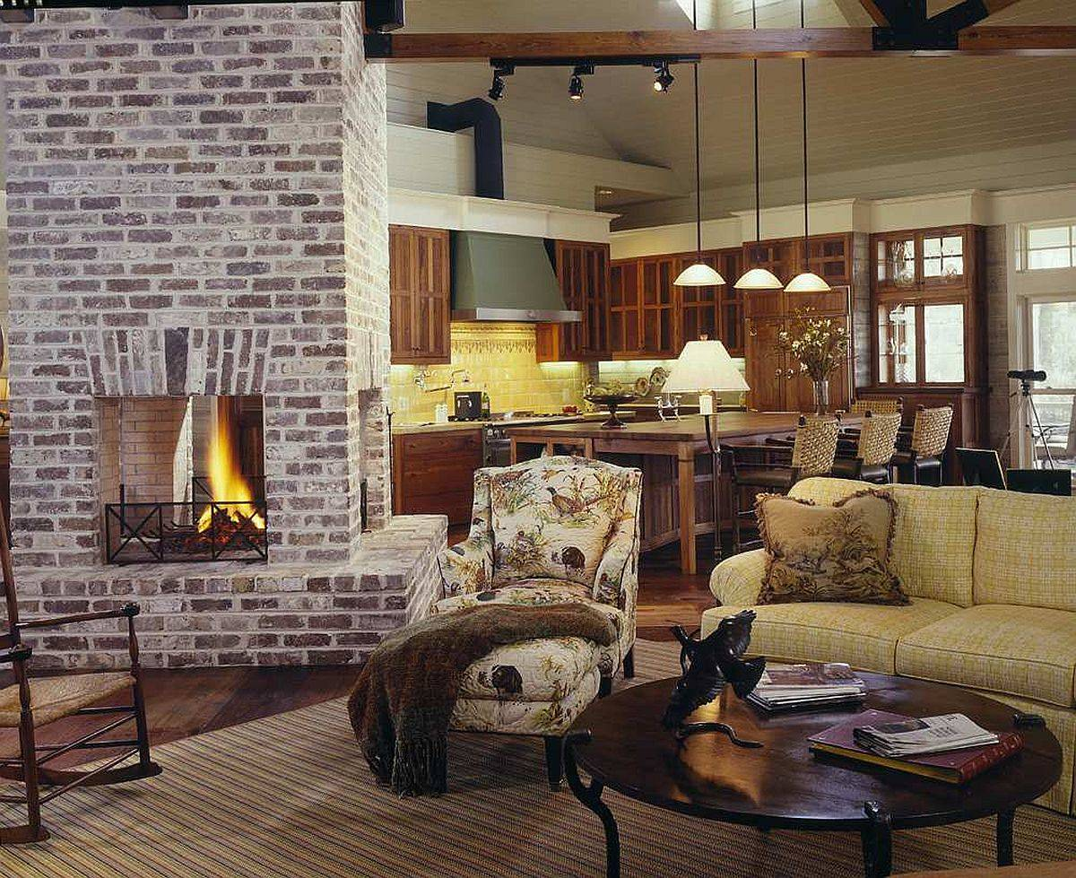 Two-sided-fireplace-serves-both-the-living-room-and-the-kitchen-in-here-80308