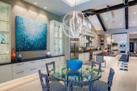 Brilliant! Bold And Blue Dining Room Inspirations
