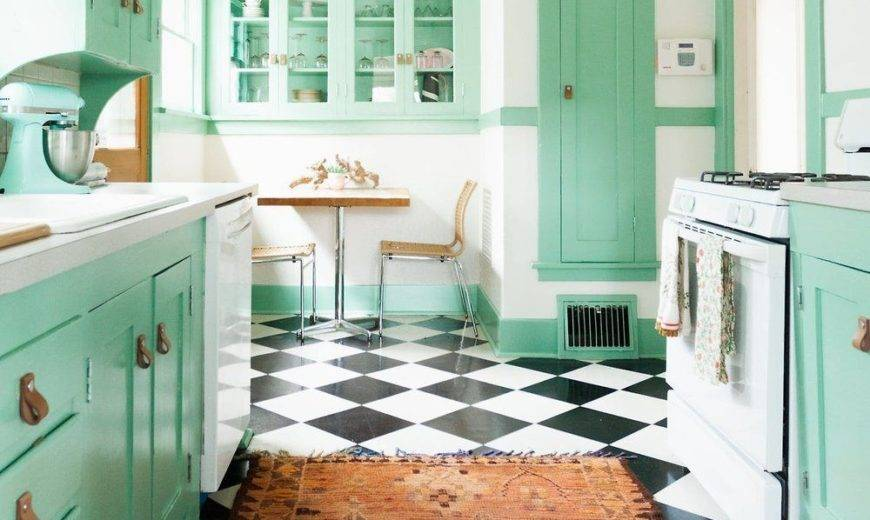 The Best Ways To Incorporate Mint Green Into Your Kitchen