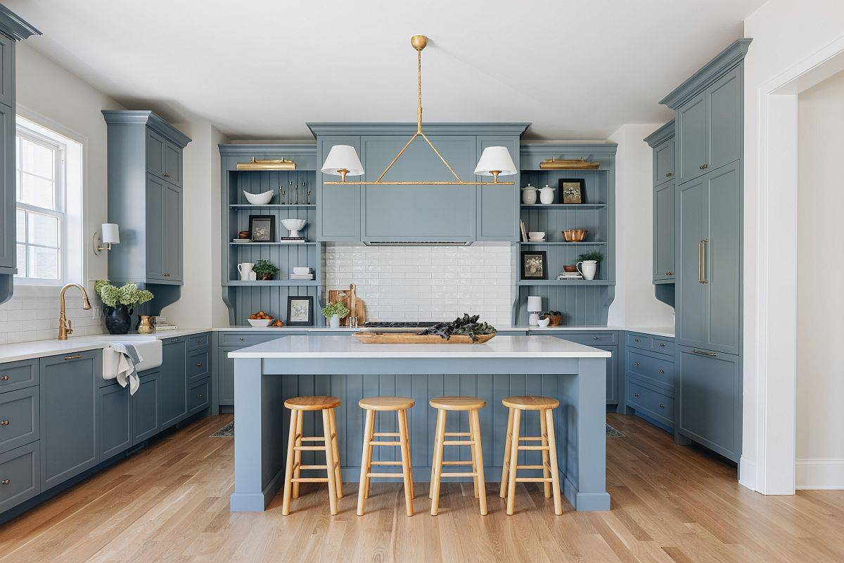 Find the right balance between aesthetics and ergonomins inside the modern kitchen