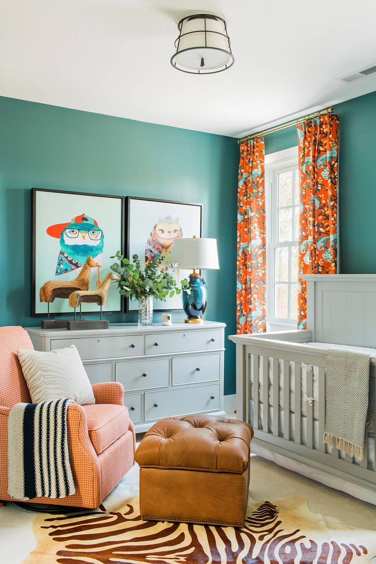 Gender-neutral nurseries can still be full of vibrant color