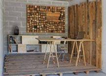 Wooden-slats-and-custom-backdrop-create-a-beautiful-rustic-home-office-inside-the-garage-17738-217x155