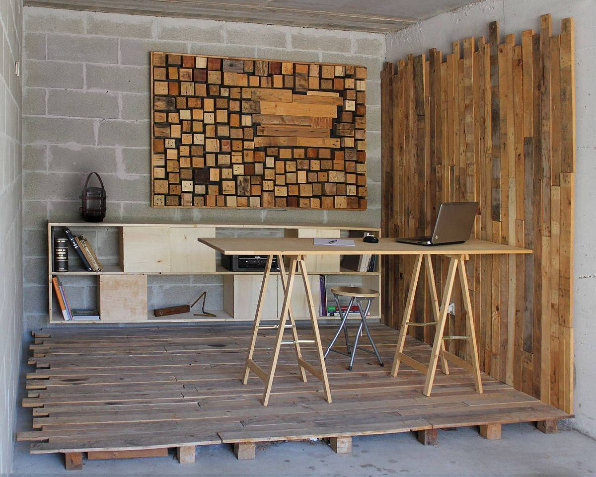 Wooden-slats-and-custom-backdrop-create-a-beautiful-rustic-home-office-inside-the-garage-17738
